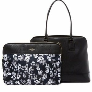 Authentic Kate Spade pebbled leather bag/laptop